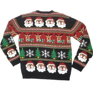 Daisy's boutique Santa reindeer Christmas sweater